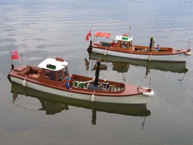 Cécilia et Victoria en navigation