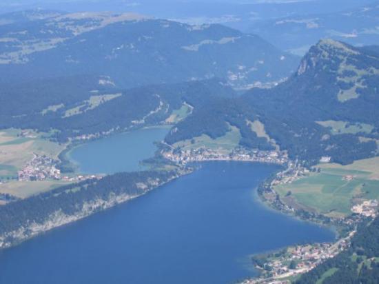 Lac de Joux et lac Brenet