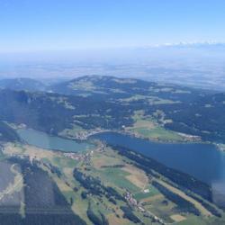 Vallée de Joux vue d'un planeur