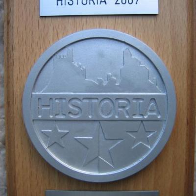 Historia 2007 Médaille d'argent
