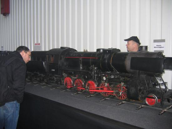 Locomotive en exposition