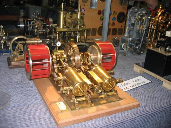 Machines vapeur horizontale