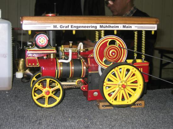 De la plus petite locomobile