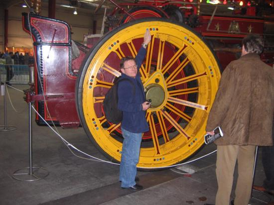 Quelle taille cette machine !