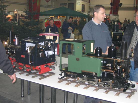 Locomotive en exposition