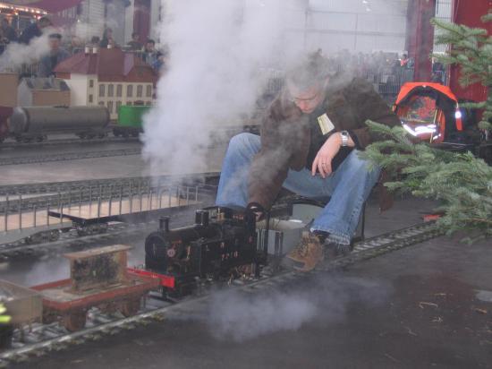 Locomotive à la manoeuvre