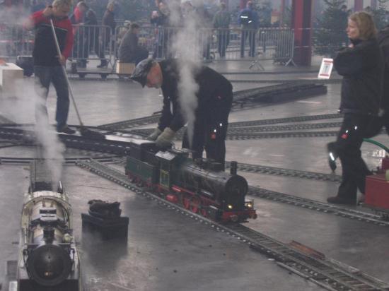 Locomotive en chauffe