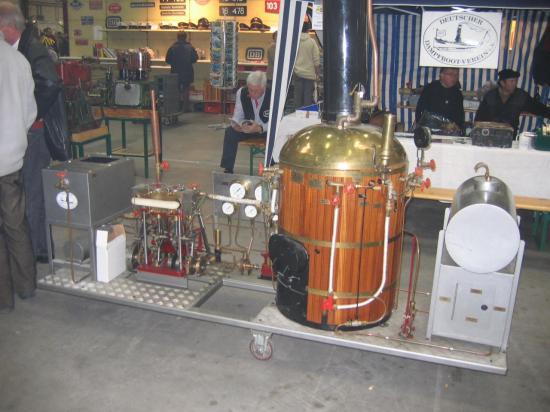 groupe vapeur pour chaloupe