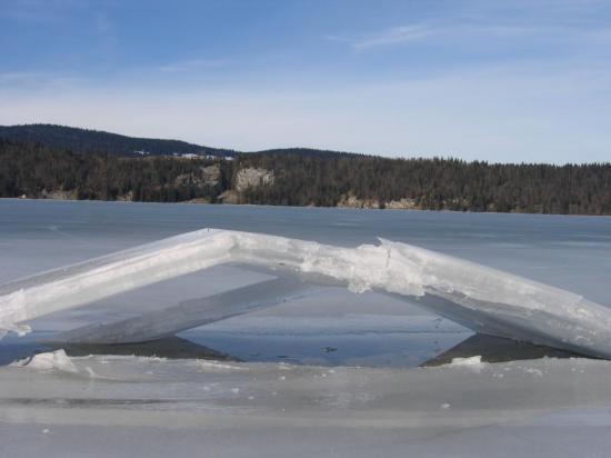 Pont de glace