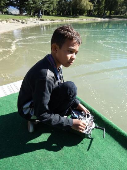 Le jeune Loic 9 ans